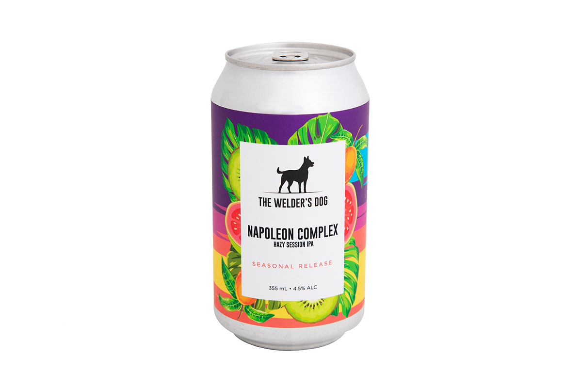 Napoleon Complex Hazy Session IPA
